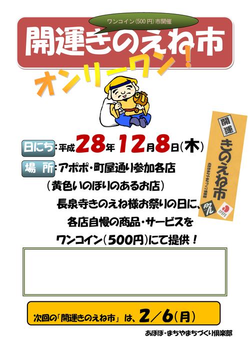 161208きのえねポスター